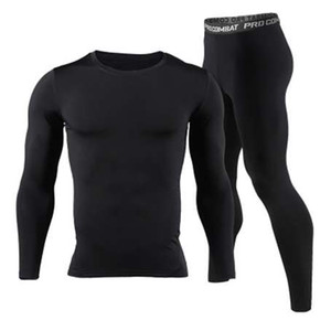 New Men Long Johns Winter Thermal Underwear Sets Brand Quick Dry Anti-microbial Men's Stretch Warm Thermo Underwear Spring