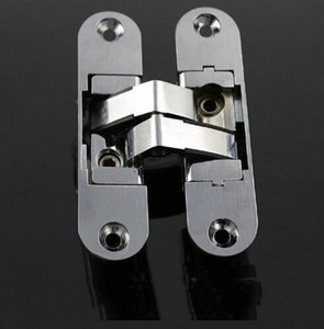 Wholesale Free Shipping High Quality Three-dimensional Folding Adjustable Hidden Hinge Door and Window Concealed Hinges 23-95mm