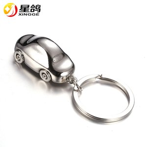Wholesale Fashion Jewelry D Car Keychain for Boyfriends Creative Car Shaped Keychains Road Cars Key Ring Gifts