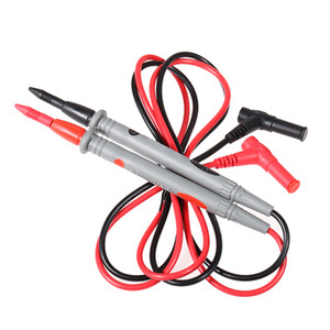 Wholesale Probe Test Leads Pin Digital Oscilloscope Multimeter Test Leads for Current Voltage Meter A V Needle Tip Pair