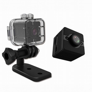 Wholesale New Waterproof degree Wide angle Lens HD P Wide Angle Video Camcorder DVR SQ12 Mini Sport Camera SQ11 Dashcam Mini DV