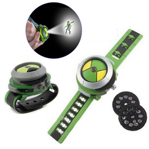 Wholesale Hot Selling ben omnitrix watch Style Kids Projector Watch Japan Genuine Ben Watch Toy Ben10 Projector Medium Support Drops