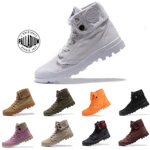 Wholesale Classic Original Mens palladium Brand boots Womens Designer Sports Red White Winter Sneaker Casual Trainers Luxury ACE boots