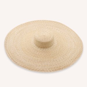 Wholesale PADEGAO HAT Wide Brim Hat Handmade natural straw cm flat top outdoor beach shape flat straw