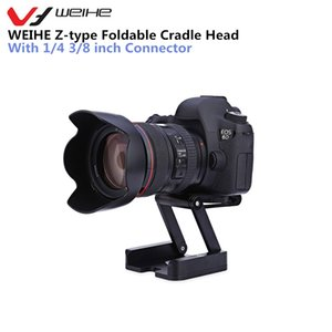 Wholesale Camera Holder Tripod Z type Foldable Cradle Head with inch Connector for DSLR Camera Camcorder