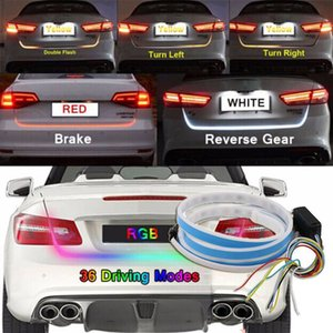 Wholesale Colors Flow Type LED Car Tailgate Light Strip Brake Driving Turn Signal Lamp