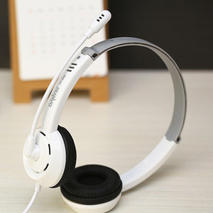 Wholesale Danyin electric DT Desktop Computer Headphone Headset Long Wire Game Headset with Microphone