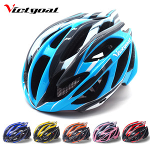 Wholesale visor bike helmet for sale - Group buy Victgoal Mountain Road Bike Helmet Back Light Men Women Ultralight Bicycle Helmet Sun Visor Breathable Cycling Helmet With Light