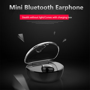 New X7 Mini Mini with charging box, invisible 4.1 wireless movement, Bluetooth headset earplug type.