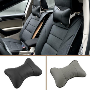 Wholesale headrest leather for sale - Group buy 2017 New Arrival Artificial PVCHigh quality car headrest leather material neck pillow for easy removal car pillow Supplies Neck Auto Safety