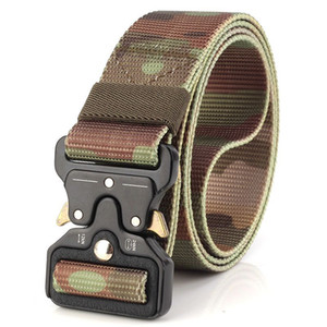Military Equipment Knock Off Army Belt Men's Heavy Duty US Soldier Combat Tactical Belts Sturdy 100% Nylon Waistband Belt