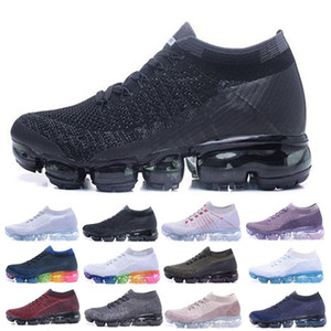 New 2018 air Running Shoes Men Women Classic Outdoor run shoe Black White Sport Shock Jogging Walking Hiking Sports Athletic maxes Sneakers