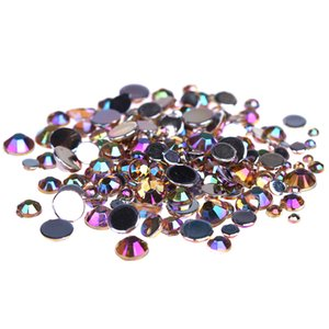 Coffee AB Color Multi-Size Acrylic Rhinestones Shoes Clothing Decorations Sparkling Newest Nail Art Decorations
