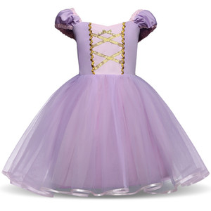 robe bébé robes achat en gros de-news_sitemap_homeFantasy Princess Girl pourpre robe d enfants Robes d été pour fille Tutu Parti Frock enfants cosplay anniversaire Dress Up Vêtements bébé