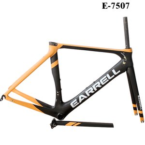 OEM Full Carbon Road Bike Frame DI2 & Machinery Road Racing Bicycle Carbon Frameset BB86 free shipping with fork seatpost on Sale