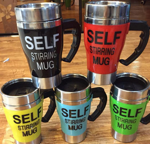 Wholesale Self Stirring Coffee Cup Mugs Electric Coffee mixer Automatic Electric Travel Mug Coffee Mixing Drinking Thermos Cup mixer with KKA1056