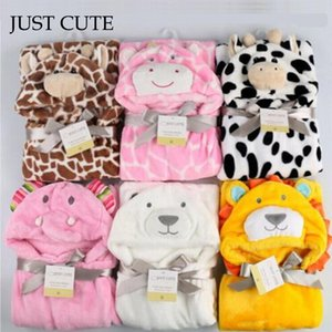 Wholesale 2017 New Soft Hooded Animal Baby Bathrobe High Quality Pattern Cartoon Baby Towel Character Kids Bath Robe Infant Towel