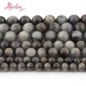 Wholesale 6 mm Smooth Round Ball Eagle Eye Beads Natural Stone Beads For DIY Necklace Bracelet Jewelry Making Loose quot