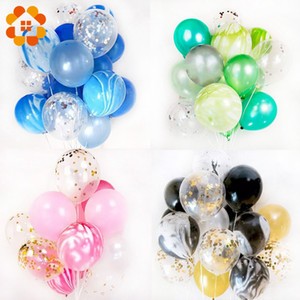 Wholesale 20pcs 12inch Multicolor Sequins Balloons Colorful Latex Balloon for Decorations Wedding Festival Ballon Party Supplies