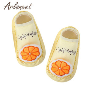 Infant Baby Girls Boys Comfortable Cartoon Fruits Socks Anti-Slip Slipper Socks Lovely And Charming Design Available No harm