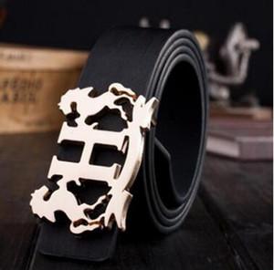 2018 hot sale brand luxury belt for men casual hollow designer belts high quality strap men's coffee jeans wedding sash
