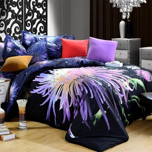 Wholesale Cheap D Bedding Set Queen Modern Animal Floral Print Tiger Lion Wolf Leopard Rose Daisy Polyester Fabric Bed Sheet Set