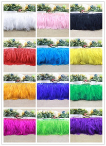 Wholesale accessories turkey for sale - Group buy 10yard Turkey Feather Ostrich Feather Dance Festival Party Hat Boots Clothing Wedding Accessories Decoration Ribbons