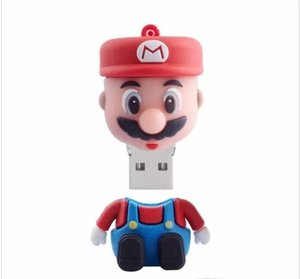 Wholesale Super Mario USB Flash Drive Pen Dirve U Disk Thumb Drive Memory Stick GB GB