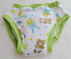 Printed lovely bear Training Pant  abdl Cloth Diaper  Adult Baby Diaper Lover Underpants on Sale
