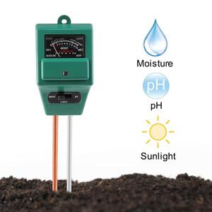 Soil pH Meter, GZCRDZ 3-in-1 Moisture Sensor Meter   Sunlight   pH Soil Test Kits test function for Home and Garden, Plants, Farm, Indoor