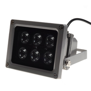 Wholesale IR illuminator infrared lamp Night Vision for CCTV Camera Epistar LED IP65 grey color AC Volt best price