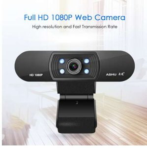 Wholesale 2 Megapixel Full HD P Webcams USB Web Digital Camera with Microphone Clip on CMOS Camera Web Cam for PC Laptop Desktop