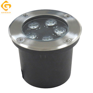 Just New Ip68 5w 10w Waterproof Led Underground Light Outdoor Ground Garden Path Floor Buried Yard Spot Landscape 85-265v Dc12v High Resilience Led Lamps