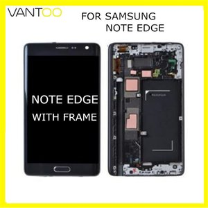 Wholesale New Original LCD Display With Touch Screen Digitizer Assembly Super AMOLED Replacement For Samsung Galaxy Note edge