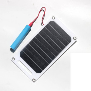 Wholesale 6 W V Waterproof Solar Power Panel External Backup Battery Charger Outdoor For Cell Phone Battery Sunpower Solar Panel Charger
