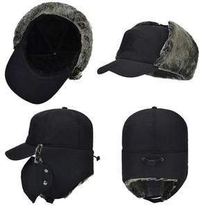 Waterproof Super Warm Trapper Trooper Earflaps Bomber Faux Fur Lining Ski Hat Cap Women Men Winter Hat Bomber