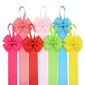 Wholesale kids hair accessories hairpin storage with girls tiara finishing storage rope hanging head flower accessories