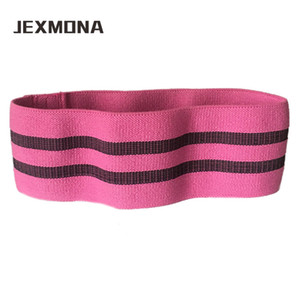 Wholesale Elastic Hip Resistance Bands Fitness Cotton Hip Loop Rope Squats Yoga gym Training belt Booty Butt Exercise strap