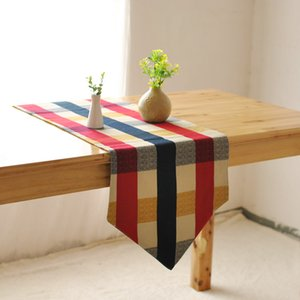 Wholesale Factory direct high grade table cloth table runner European style garden bed lattice flag runner