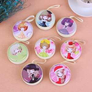 Wholesale Creative cartoon, figure girl, horse, iron, zero purse, zipper, headset, key bag, children's coin box.