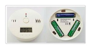 Wholesale Cheap Price Factory Supply CO Carbon Monoxide Poisoning Gas Sensor Smoke Alarm Detector Alarm Detector Tester LCD with Retail Box