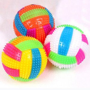 Wholesale Baby Kids Light up Toy Volleyball Bouncing Balls Children Luminous Toy Flashing Party Gift