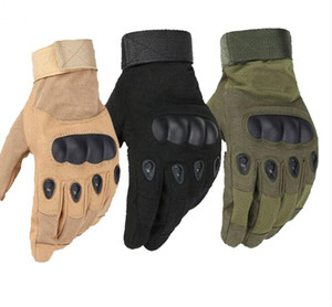 ingrosso guanti motocycle-Us Military Tactical Gloves Outdoor Sport Army Full Finger Combat Motocycle Guanti in fibra di carbonio antiscivolo