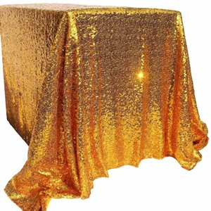 Wholesale 40 quot x quot Sparkly Bling Sequin Table cloth For Wedding Event Party Banquet Decor