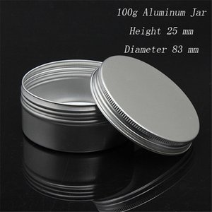 Wholesale thread 25mm for sale - Group buy EMS Capacity g mm high quality aluminium cosmetic containers with screw thread