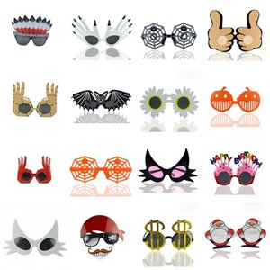 Wholesale Halloween Creative Sunglasses Face Pumpkin Money Sexy Women Wacky Glasses Birthday Christmas Party Decoration Prank Toys