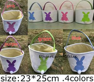 INS Burlap Easter Bunny Baskets DIY Rabbit Bags Bunny Storage Bag Jute Rabbit Ears Basket Easter Gift Bag Rabbit Ears Put Easter Eggs