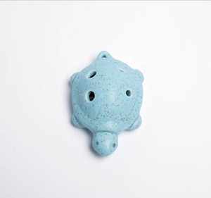 Wholesale 2018 Turtle modeling Ocarina crafts children's toy Ocarina