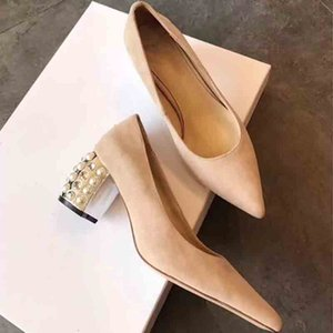 Wholesale Women Sheepskin Nude Patent Leather Poined Toe Women Pumps Fashion Bottom High Heels Shoes for Women Wedding shoes
