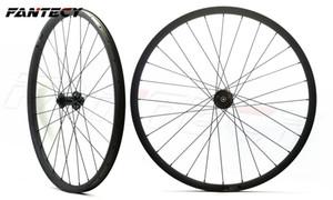 FANTECY Free shipping carbon bicycle wheels hookless 29er mountain bike wheelset 29inch MTB bike DH carbon wheelset 40mm width 30mm depth